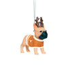 Texas Longhorns NCAA French Bulldog Wearing Sweater Ornament