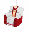 Wisconsin Badgers NCAA Reclining Chair Ornament