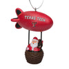 Texas Tech Red Raiders NCAA Santa Blimp Ornament