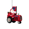Ole Miss Rebels NCAA Santa Riding Tractor Ornament