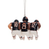 Chicago Bears NFL 3 Player Team Celebration Ornament