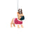 Arizona Cardinals NFL French Bulldog Wearing Sweater Ornament