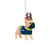 Seattle Seahawks NFL French Bulldog Wearing Sweater Ornament