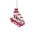 Arizona Cardinals NFL Sledding Snowmen Ornament