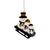 Pittsburgh Steelers NFL Sledding Snowmen Ornament
