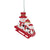San Francisco 49ers NFL Sledding Snowmen Ornament