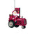 Arizona Cardinals NFL Santa Riding Tractor Ornament