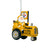 Pittsburgh Steelers NFL Santa Riding Tractor Ornament
