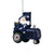 Seattle Seahawks NFL Santa Riding Tractor Ornament