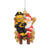 Pittsburgh Steelers NFL Mascot On Santa's Lap Ornament - Steely McBeam