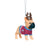Colorado Avalanche NHL French Bulldog Wearing Sweater Ornament (PREORDER - SHIPS MID NOVEMBER)