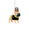 Pittsburgh Penguins NHL French Bulldog Wearing Sweater Ornament