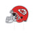 Kansas City Chiefs NFL Home Field Stake Helmet Sign