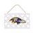 Baltimore Ravens NFL Lattice Garden Sign