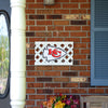 Kansas City Chiefs NFL Lattice Garden Sign