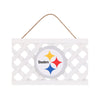Pittsburgh Steelers NFL Lattice Garden Sign