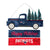 New England Patriots NFL Wooden Truck With Tree Sign