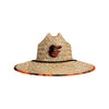Baltimore Orioles MLB Floral Straw Hat (PREORDER - SHIPS LATE JUNE)