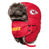 Kansas City Chiefs NFL Big Logo Trapper Hat With Face Cover