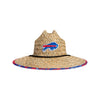 Buffalo Bills NFL Floral Straw Hat (PREORDER - SHIPS EARLY AUGUST)