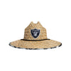 Las Vegas Raiders NFL Floral Straw Hat (PREORDER - SHIPS MID AUGUST)