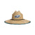 Philadelphia Eagles NFL Floral Straw Hat