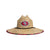 San Francisco 49ers NFL Floral Straw Hat