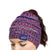 Buffalo Bills NFL Womens Color Wave Ponytail Beanie
