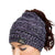 Baltimore Ravens NFL Womens Color Wave Ponytail Beanie