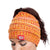 Kansas City Chiefs NFL Womens Color Wave Ponytail Beanie