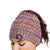 Minnesota Vikings NFL Womens Color Wave Ponytail Beanie