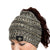 New Orleans Saints NFL Womens Color Wave Ponytail Beanie
