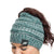 Philadelphia Eagles NFL Womens Color Wave Ponytail Beanie