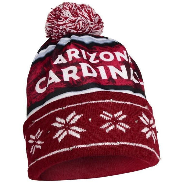 Arizona Cardinals NFL Wordmark Light Up Printed Beanie