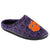 Clemson Tigers NCAA Mens Poly Knit Cup Sole Slippers