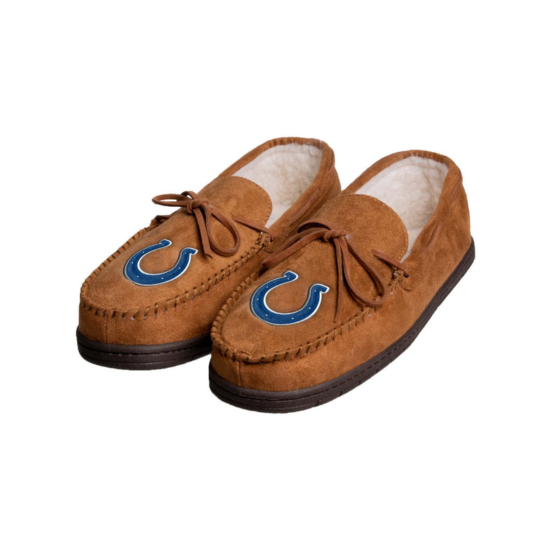 bcaa4d09 Indianapolis Colts NFL Mens Moccasin Slipper