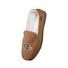 Baltimore Ravens NFL Exclusive Mens Beige Moccasin Slippers