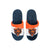 Chicago Bears NFL Youth Colorblock Slide Slipper