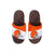 Cleveland Browns NFL Youth Colorblock Slide Slipper