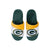 Green Bay Packers NFL Youth Colorblock Slide Slipper