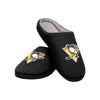 Pittsburgh Penguins NHL Mens Memory Foam Slide Slippers