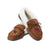 Arizona Cardinals NFL Womens Tan Moccasin Slippers (PREORDER - SHIPS LATE OCTOBER)