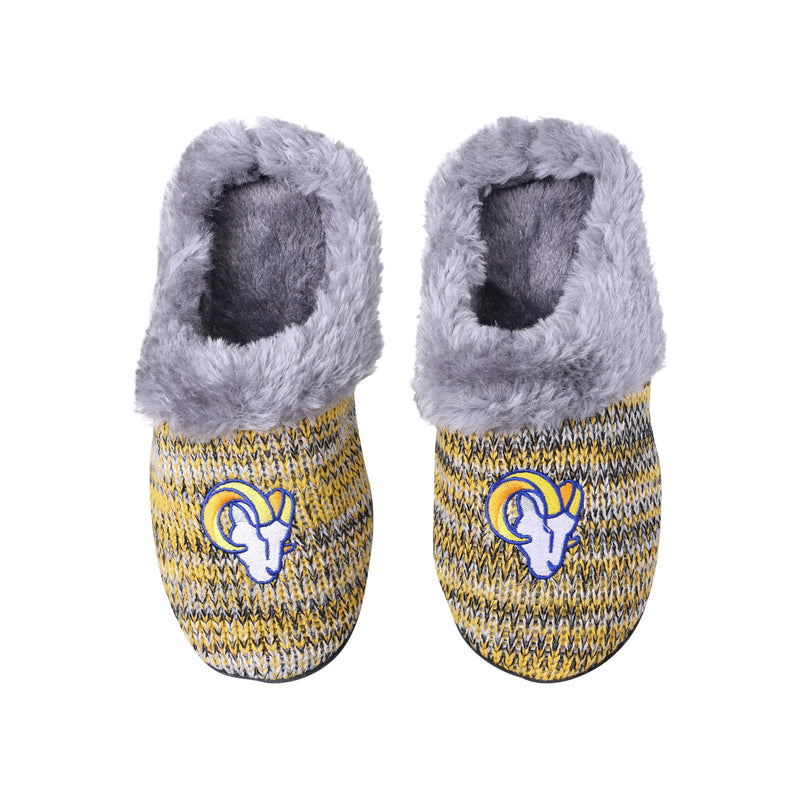Los Angeles Rams Logo Baby Bootie Slipper Extra Large