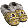Washington Redskins NFL Womens Peak Slide Slippers