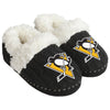 Pittsburgh Penguins NHL Womens Team Color Fur Moccasin