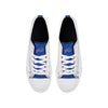 Buffalo Bills NFL Mens Low Top White Canvas Shoes (PREORDER - SHIPS MID NOVEMBER)