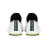 Green Bay Packers NFL Mens Low Top White Canvas Shoes (PREORDER - SHIPS MID NOVEMBER)