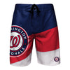 Washington Nationals MLB Mens Color Dive Boardshorts