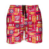 Washington Nationals MLB Mens Grill Pro Swimming Trunks