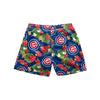 "Chicago Cubs MLB Mens Floral Slim Fit 5.5"" Swimming Suit Trunks (PREORDER - SHIPS MID MARCH)"